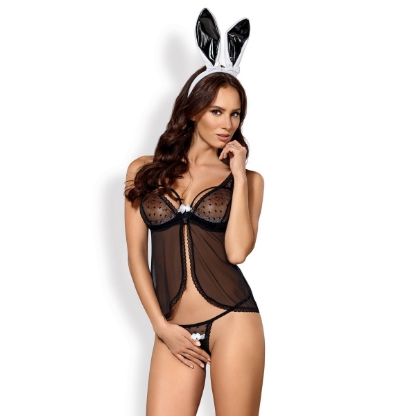Эротичный комплект зайки Obsessive 815-CST-1 bunny costume