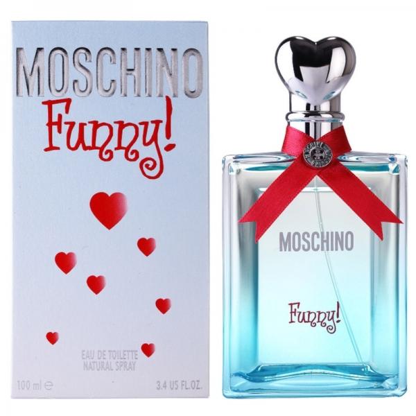 Moschino Funny — туалетная вода 100ml для женщин