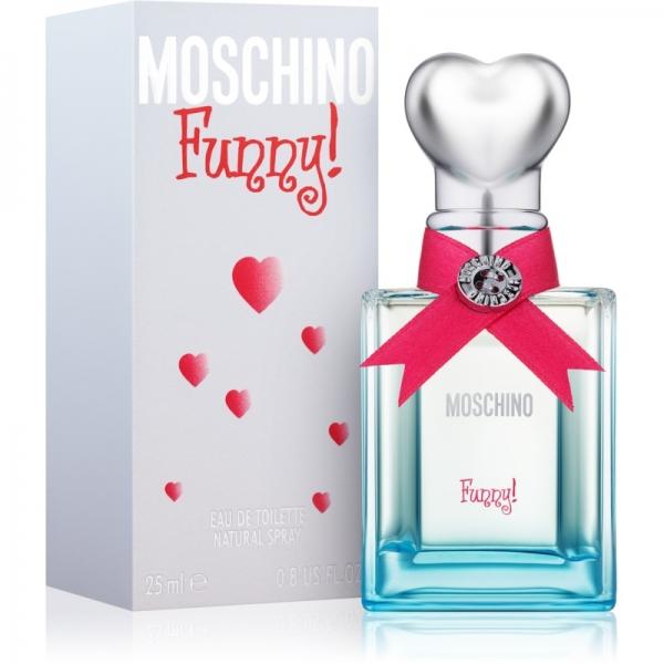Moschino Funny — туалетная вода 25ml для женщин