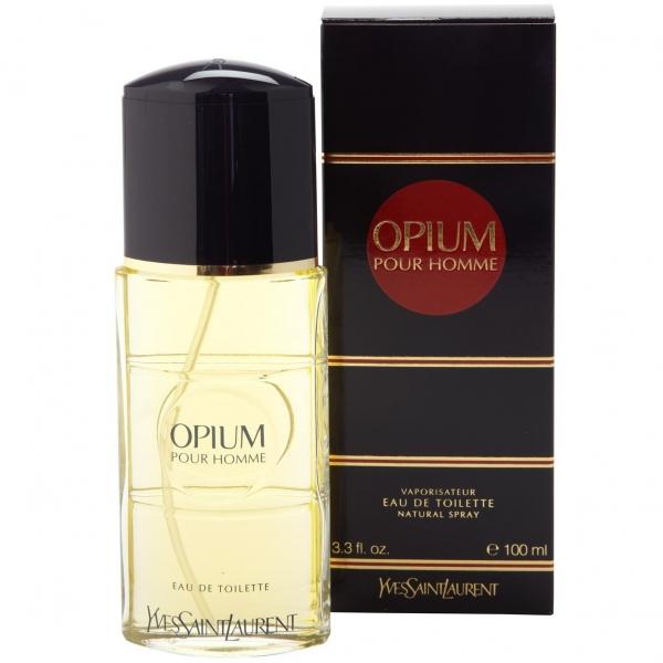 Yves Saint Laurent Opium Pour Homme — туалетная вода 100ml для мужчин