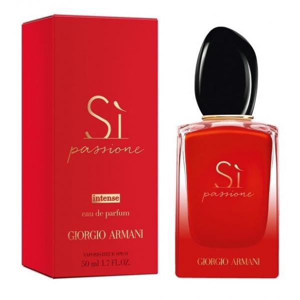 Giorgio Armani Si Passione Intense — парфюмированная вода 50ml для женщин