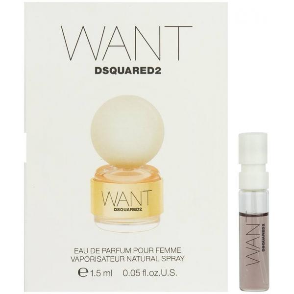 Dsquared2 Want (пробник) — парфюмированная вода 1,5ml для женщин
