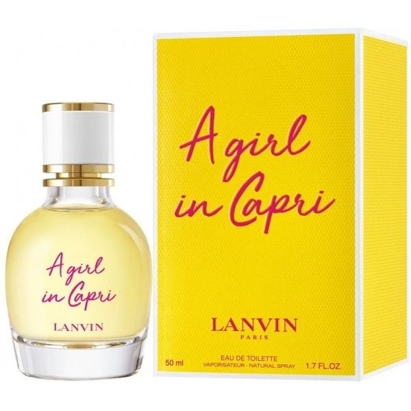Lanvin A Girl In Capri — туалетная вода 50ml для женщин