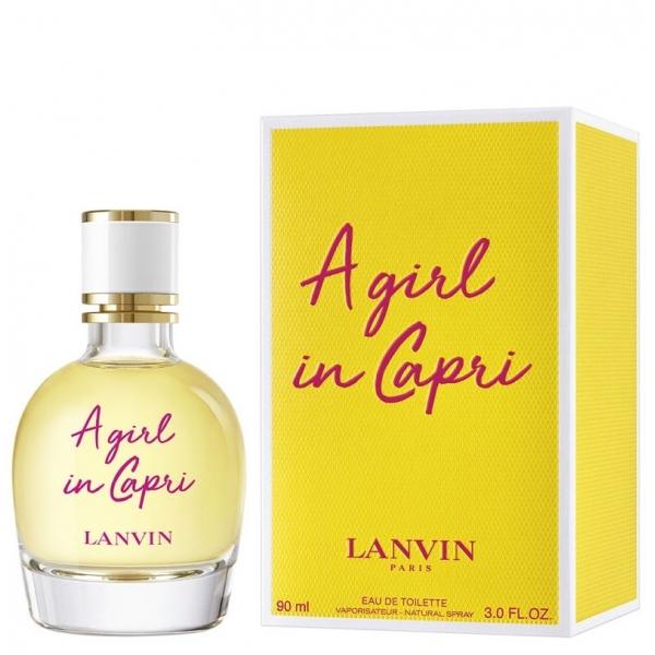 Lanvin A Girl In Capri — туалетная вода 90ml для женщин