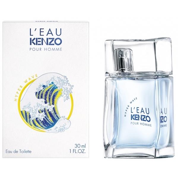 Kenzo L`eau Pour Homme Hyper Wave — туалетная вода 30ml для мужчин
