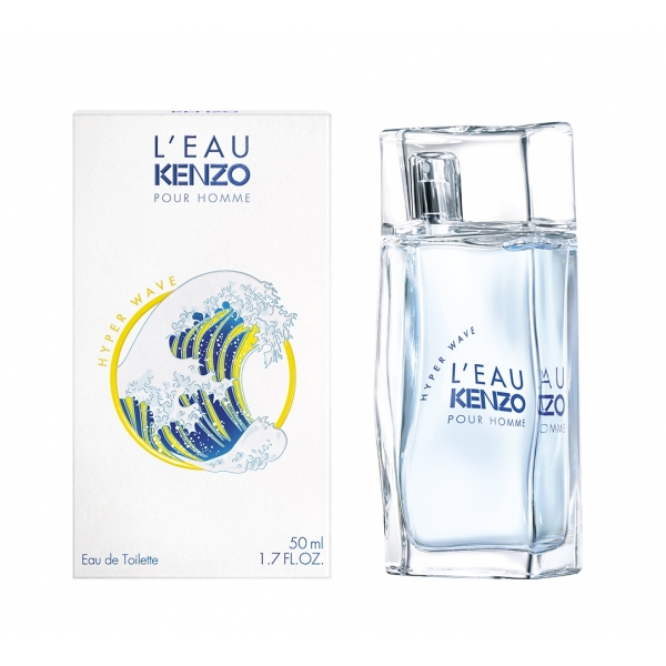 Kenzo L`eau Pour Homme Hyper Wave — туалетная вода 50ml для мужчин