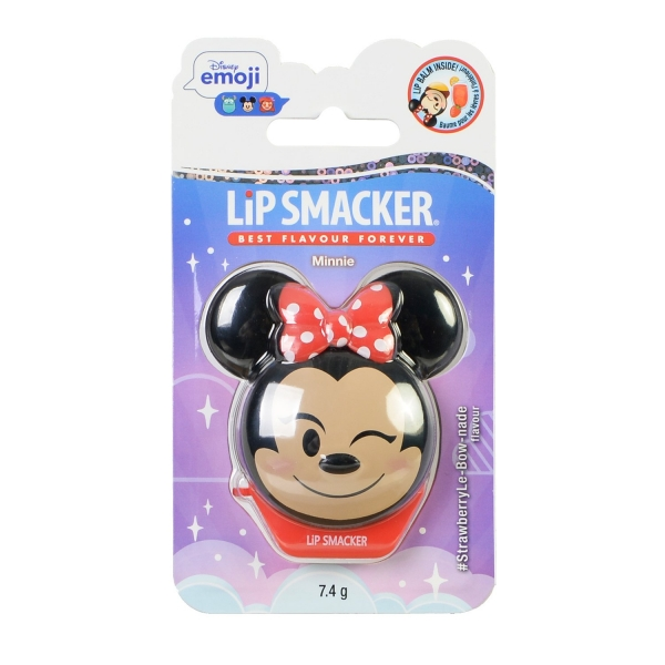 Lip Smacker Disney Emoji Minnie Бальзам для губ, клубничный 7.4g