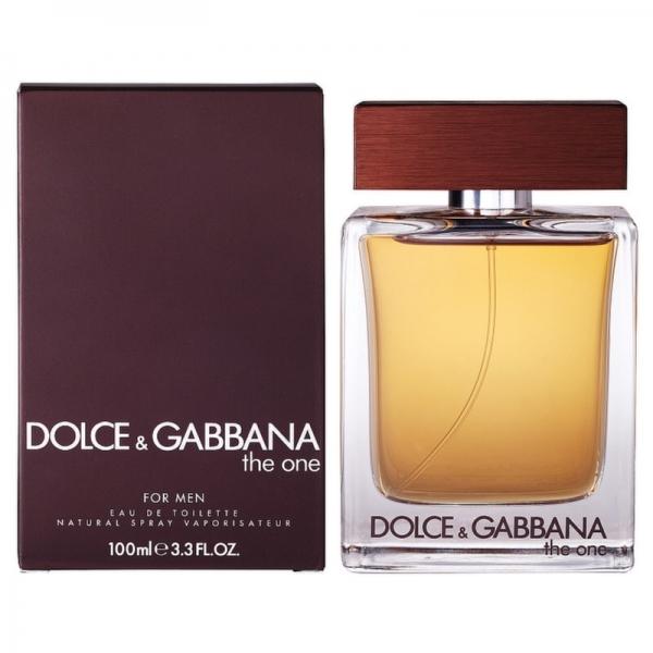 Dolce&Gabbana The One Men — туалетная вода 100ml для мужчин