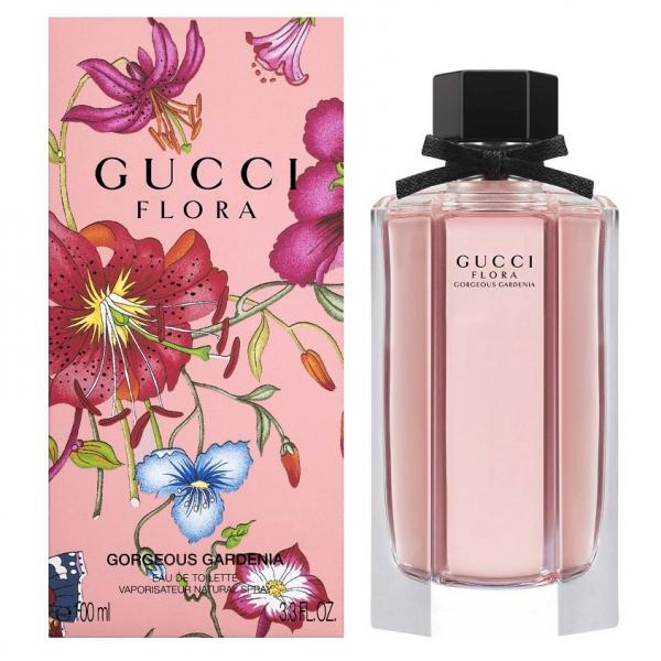 Gucci Flora By Gucci Gorgeous Gardenia — туалетная вода 100ml для женщин