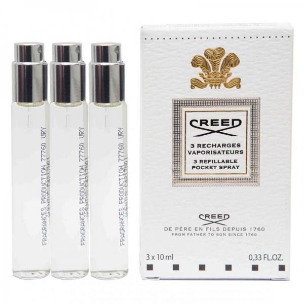 Creed Aventus — парфюмированная вода 3*10ml для мужчин (сменный блок)