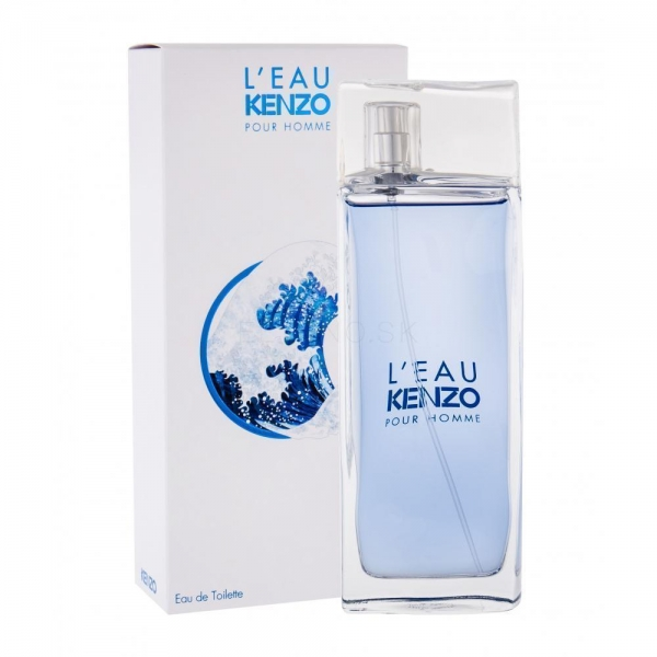Kenzo Leau Pour Homme — туалетная вода 100ml для мужчин
