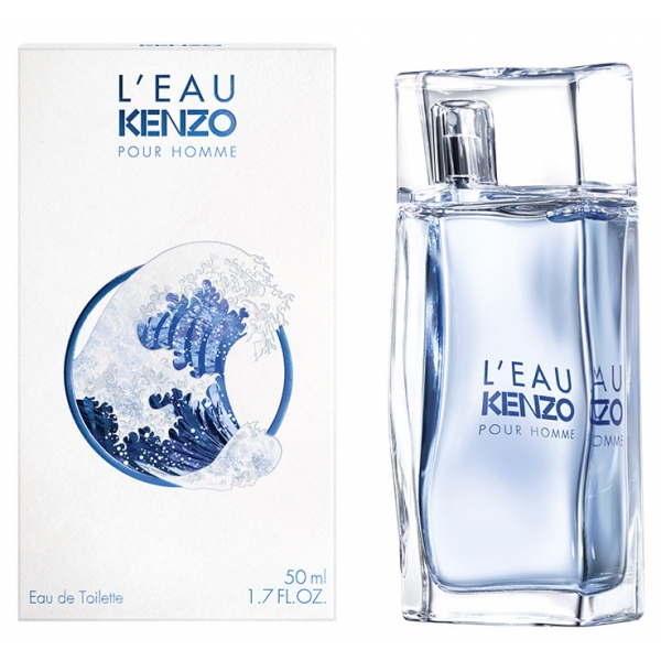 Kenzo Leau Pour Homme — туалетная вода 50ml для мужчин