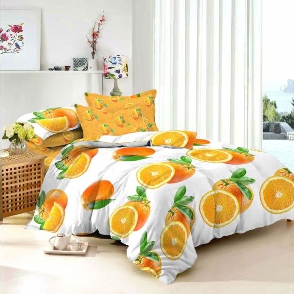 Постельный комплект Апельсин, сатин