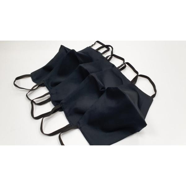 Набор чёрных масок 2 слоя (5шт)