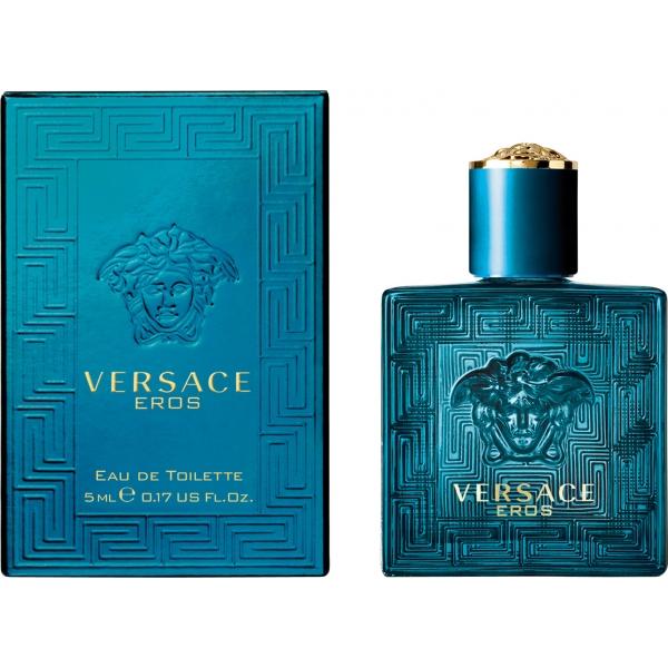 Versace Eros — туалетная вода 5ml для мужчин