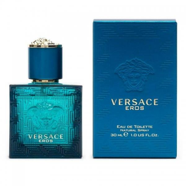 Versace Eros — туалетная вода 30ml для мужчин