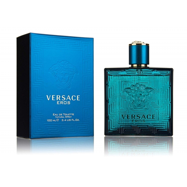 Versace Eros — туалетная вода 100ml для мужчин