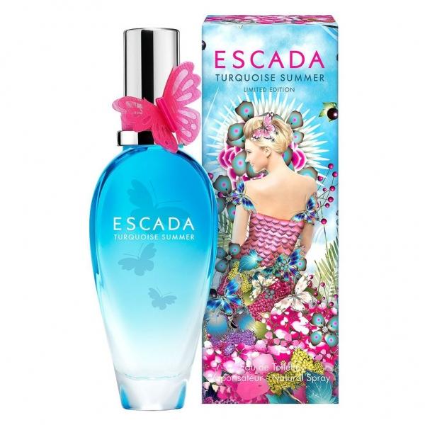 Escada Turquoise Summer — туалетная вода 50ml для женщин Limited Edition