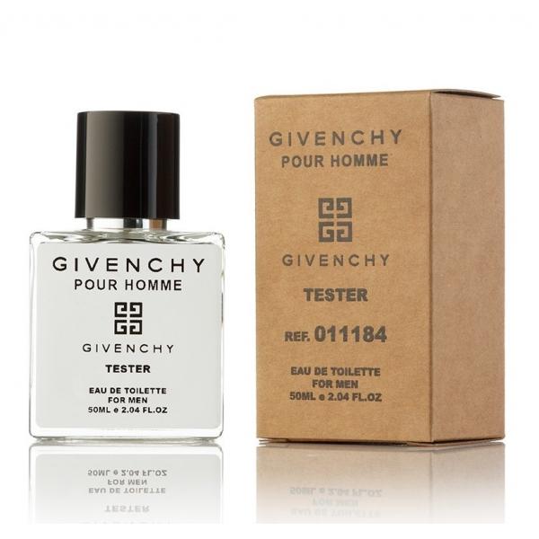 Givenchy pour homme — туалетная вода 50ml для мужчин ТЕСТЕР ЛИЦЕНЗИЯ VIP