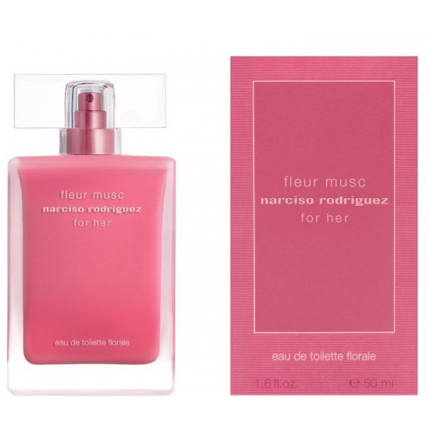 Narciso Rodriguez Fleur Musc For Her Florale — туалетная вода 50ml для женщин