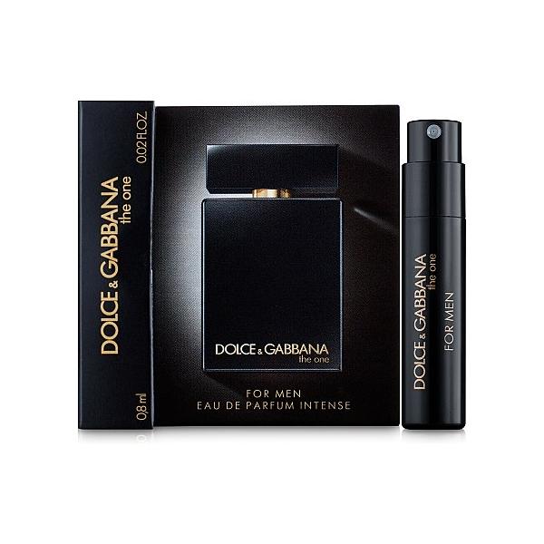 Dolce&Gabbana The One For Men Intense Eau De Parfum (пробник) — парфюмированная вода 0.8ml для мужчин