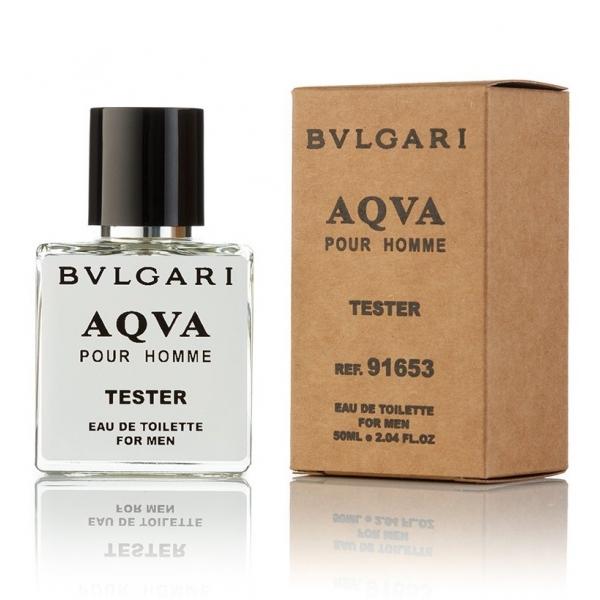 Bvlgari Aqva pour homme — туалетная вода 50ml для мужчин ТЕСТЕР ЛИЦЕНЗИЯ VIP