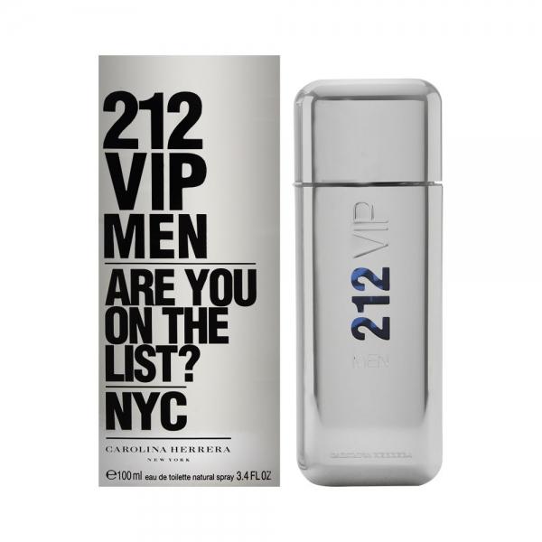 Carolina Herrera 212 Vip Men — туалетная вода 100ml для мужчин