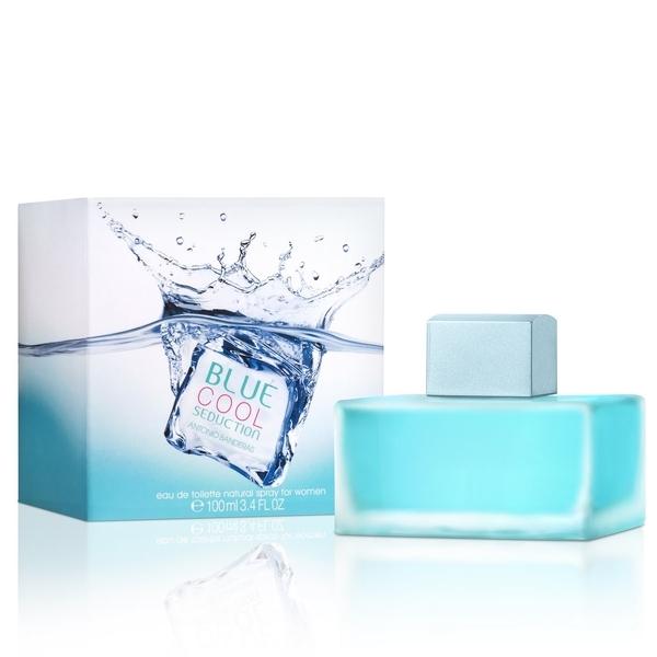 Antonio Banderas Blue Cool Seduction — туалетная вода 100ml для женщин лицензия (lux)