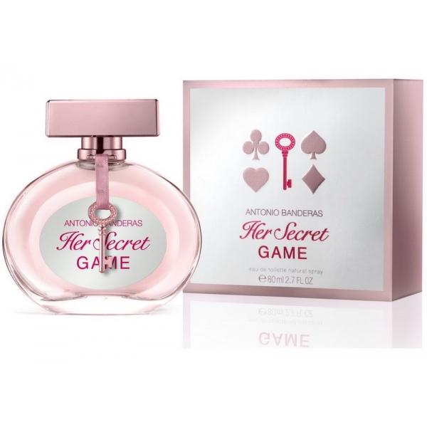 Antonio Banderas Her Secret Game — туалетная вода 80ml для женщин лицензия (normal)