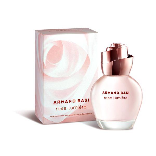 Armand Basi Rose Lumiere — туалетная вода 100ml для женщин лицензия (lux)