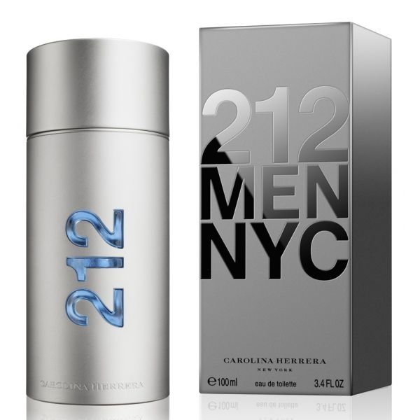 Carolina Herrera 212 MEN (крышка на магните) — туалетная вода 100ml для мужчин лицензия (lux)