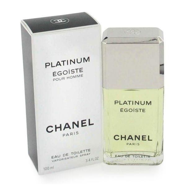 Chanel Egoiste Platinum — туалетная вода 100ml для мужчин лицензия (lux)