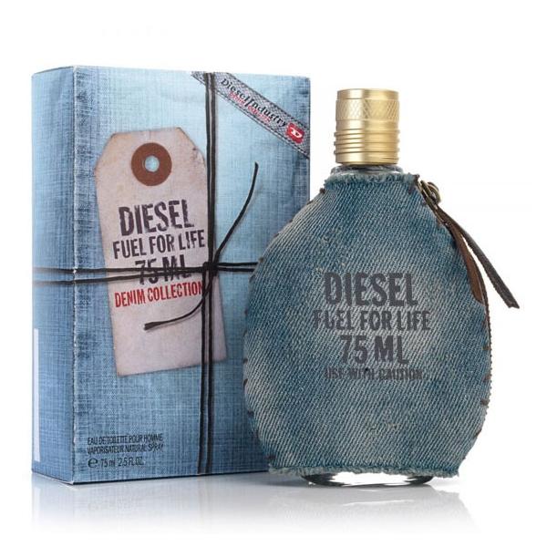 Diesel Fuel For Life Denim Collection Homme — туалетная вода 75ml для мужчин лицензия (lux) в джинсе