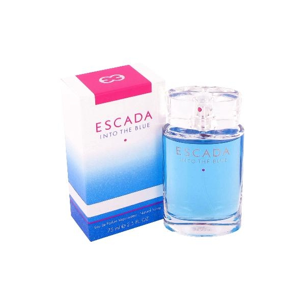 Escada Into the blue — парфюмированная вода 75ml для женщин лицензия (lux)