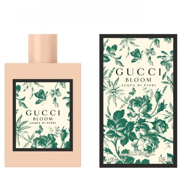 Gucci Bloom Acqua di Fiori — парфюмированная вода 100ml для женщин лицензия (lux)