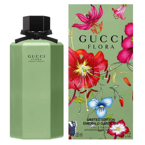 Gucci Flora Emerald Gardenia — туалетная вода 100ml для женщин лицензия (lux)