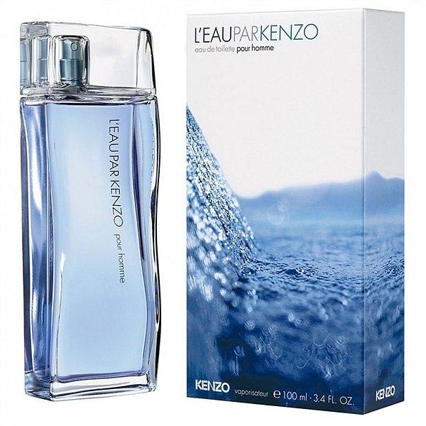 Kenzo L`eau Par pour homme — туалетная вода 100ml для мужчин лицензия (lux)