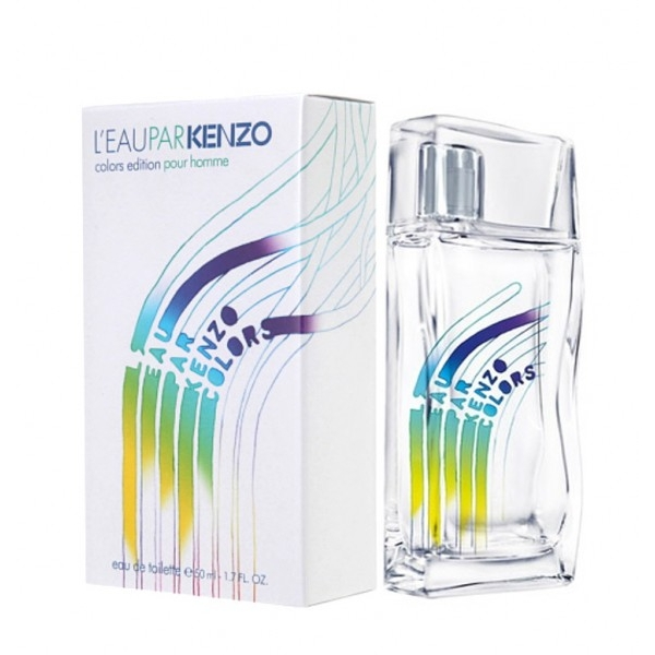 Kenzo Leu Pear Colors Edition — туалетная вода 100ml для мужчин лицензия (lux)