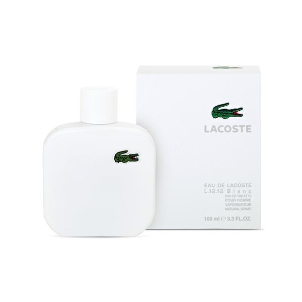 Lacoste Eau De Lacoste L.12.12 Blanc Pour Homme — туалетная вода 100ml для мужчин лицензия (lux)