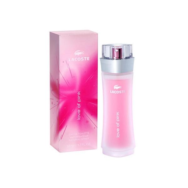 Lacoste Love Of Pink — туалетная вода 90ml для женщин лицензия (normal)