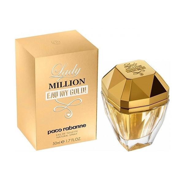 Paco Rabanne Lady Million Eau My Gold — парфюмированная вода 80ml для женщин лицензия (lux)