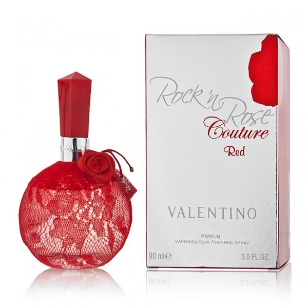 Valentino Rock In Rose Couture Red — парфюмированная вода 100ml для женщин лицензия (normal)