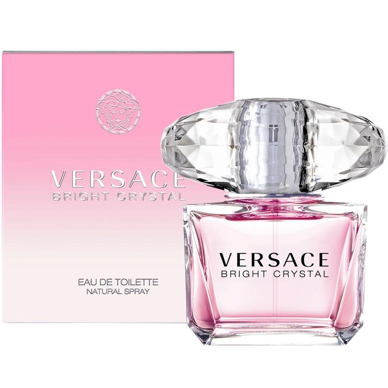 Versace Bright Crystal — туалетная вода 90ml для женщин лицензия (lux)