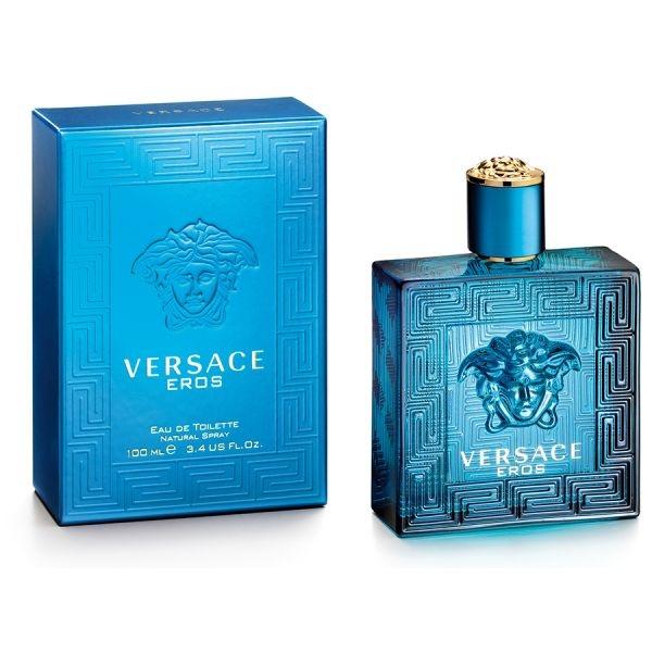 Versace Eros — туалетная вода 100ml для мужчин лицензия (normal)