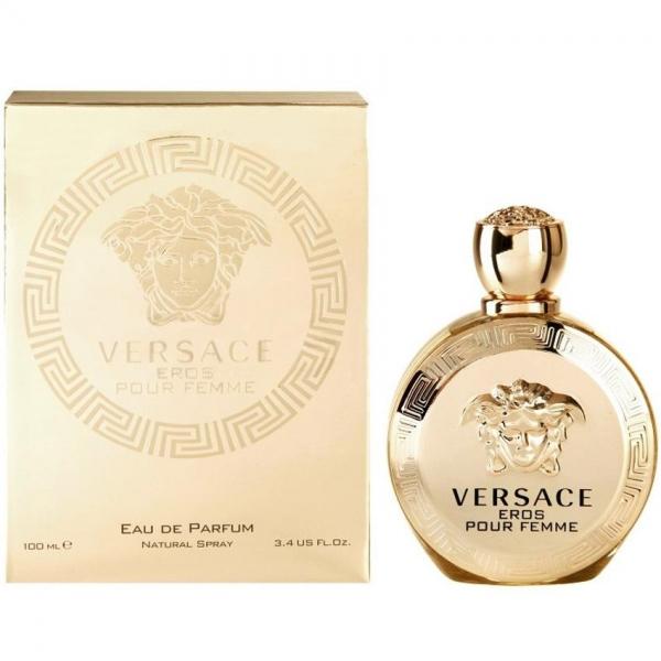Versace Eros Pour Femme — парфюмированная вода 100ml для женщин лицензия (lux)