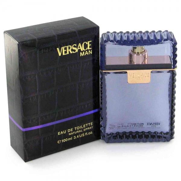 Versace Man (Black) — туалетная вода 100ml для мужчин лицензия (normal)