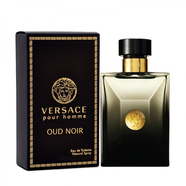 Versace Pour Homme Oud Noir — парфюмированная вода 100ml для мужчин лицензия (lux)