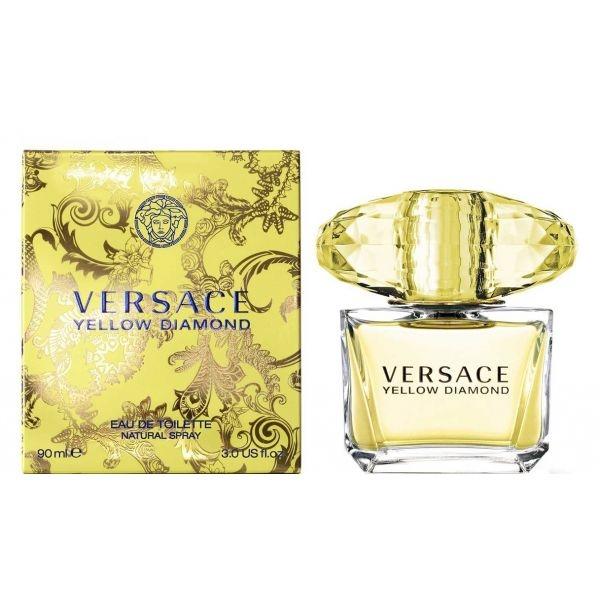 Versace Yellow Diamond — туалетная вода 90ml для женщин лицензия (lux)