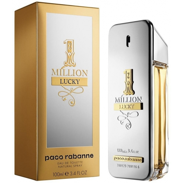 Paco Rabanne 1 Million Lucky — туалетная вода 100ml для мужчин