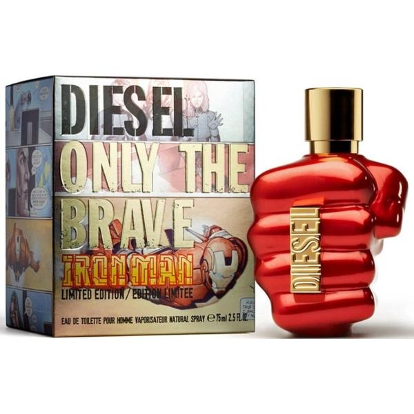 Diesel Only The Brave Iron Man Limited Edition — туалетная вода 75ml для мужчин лицензия (normal)
